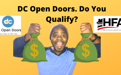 DC Open Doors. Do You Qualify?